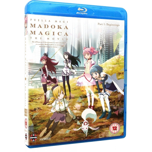 Puella Magi Madoka Magica The Movie: Part 1 - Beginnings Blu-ray