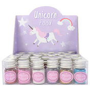 Box of 36 Unicorn Food Glitter