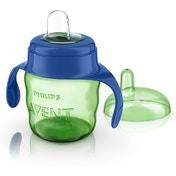Philips Avent Easy Sip Spout Cup with Handle (200 ml, Blue)