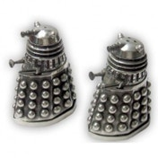 Doctor Who Dalek Pewter Salt and Pepper Cruet Set