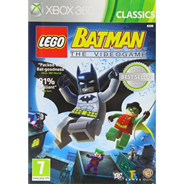 (Pre-Owned) Lego Batman The Video Game (Classics) Xbox 360
