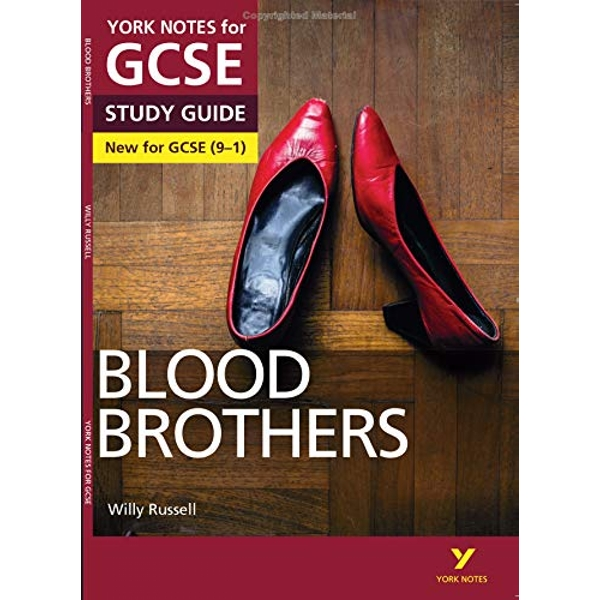 Blood Brothers: York Notes for GCSE (9-1) by Pearson Education Limited (Paperback, 2016)