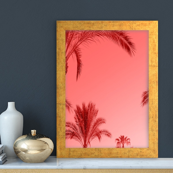 AC125433498123 Multicolor Decorative Framed MDF Painting