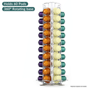 Rotating 60 Nespresso Capsule Holder | M&W