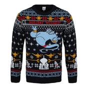 Aladdin - Genie Christmas Wishes Unisex Christmas Jumper Small