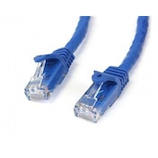 Startech 3m Blue Gigabit Snagless RJ45 UTP Cat6 Patch Cable - 3 m Patch Cord