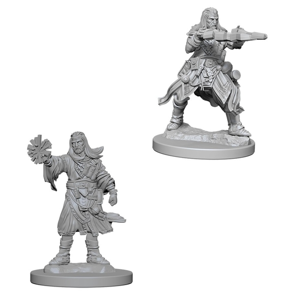 Pathfinder Battles Deep Cuts Unpainted Miniatures (W1) Male Human Wizard