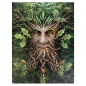 Small Oak King Canvas Picture by Anne Stokes