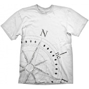 Uncharted 4 Compass T-shirt White Medium