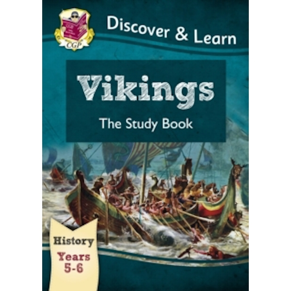 KS2 Discover & Learn: History - Vikings Study Book, Year 5 & 6 by CGP Books (Paperback, 2014)