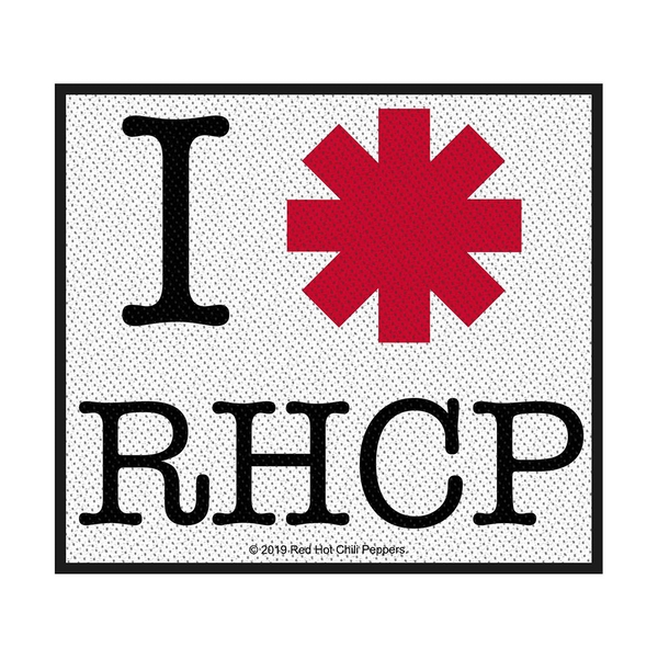 Red Hot Chili Peppers - I Love RHCP Standard Patch