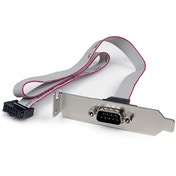 StarTech 2 Port 16 Inch DB9 Serial Bracket to 10 Pin Header (Low Profile)