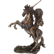 War Cry Indian Figurine