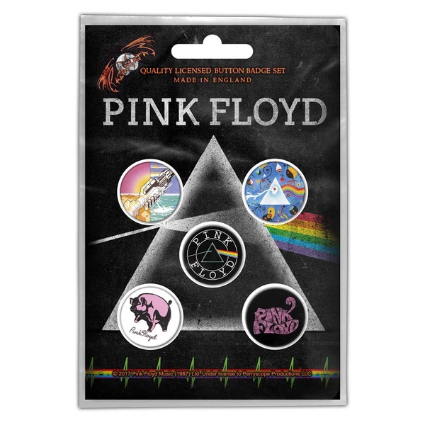 Pink Floyd - Prism Button Badge Pack