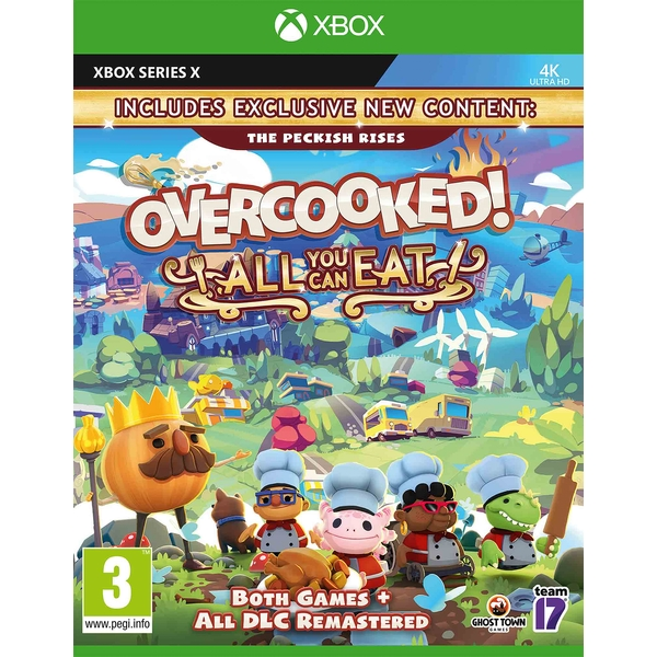 Overcooked! All You Can Eat Xbox Series X Game