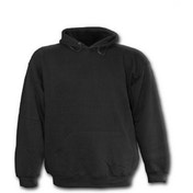 Urban Fashion Kid's Large Hoodie - Black