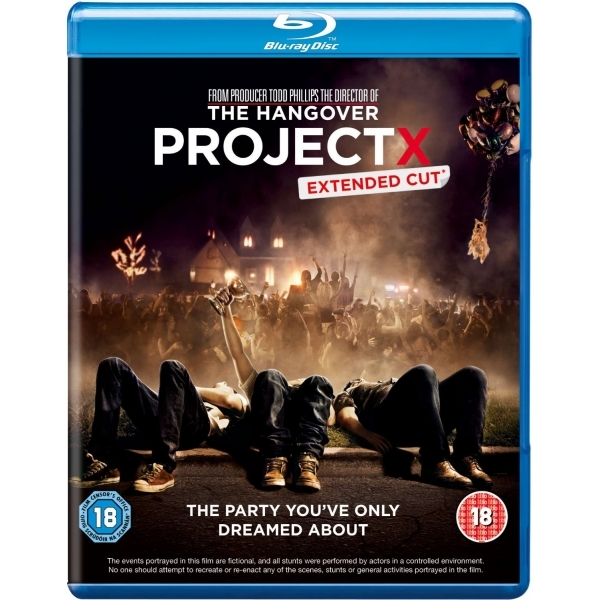 Project X Extended cut DVD