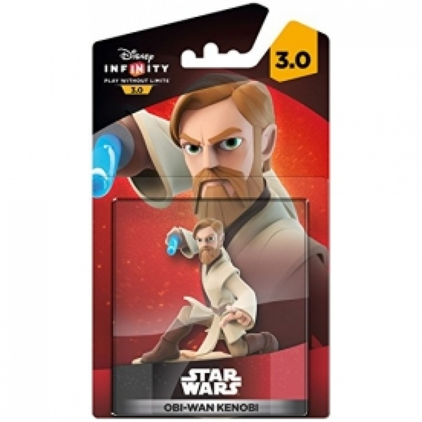Ex-Display Disney Infinity 3.0 Obi-Wan Kenobi (Star Wars) Character Figure Used - Like New - Image 2