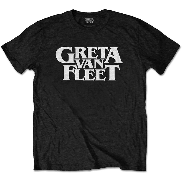 Greta Van Fleet - Logo Men's XX-Large T-Shirt - Black
