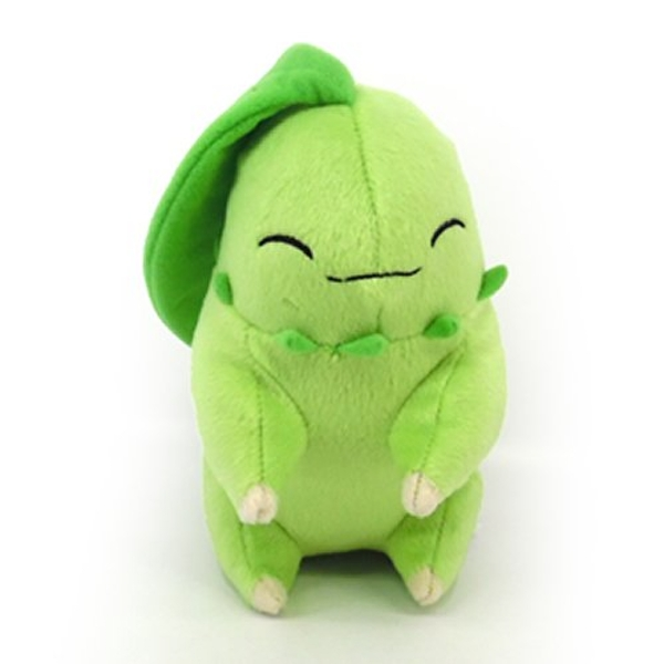 08c29bf0 Pokemon Legacy - Sleeping Chikorita 8 Inch Plush - shop4tr.com