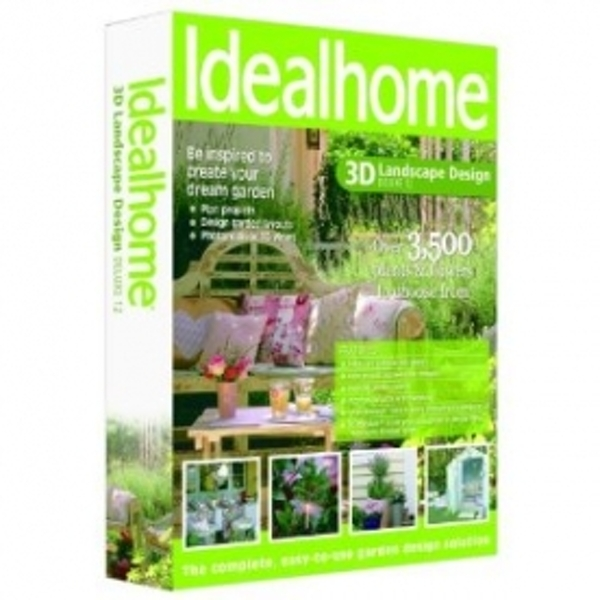Ideal Home 3D Landscape Design Deluxe 12 PC - ozgameshop.com