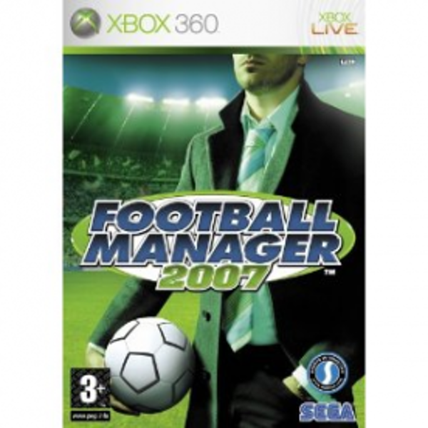 Football Manager 2007 Game Xbox 360
