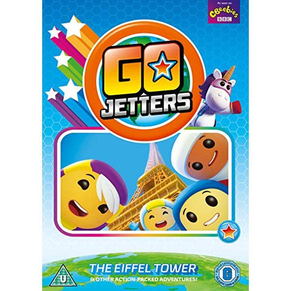 Go Jetters: The Eiffel Tower and Other Adventures DVD