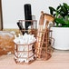 Rose Gold Hexagonal Desk Tidy | M&W - Image 2