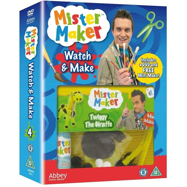 Mister Maker: Watch and Make 4 DVD