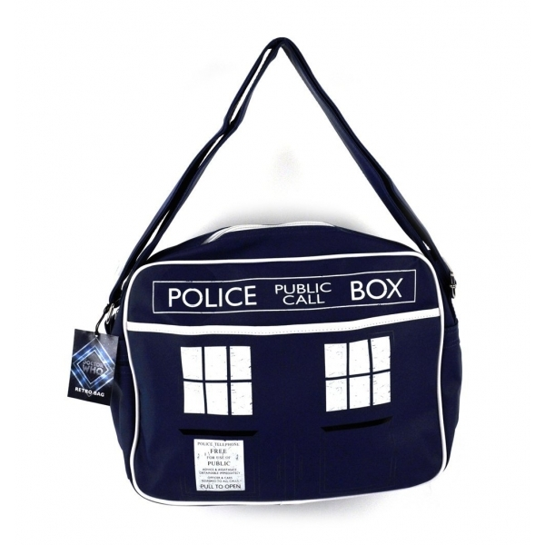 Doctor Who Tardis Retro Messenger Bag