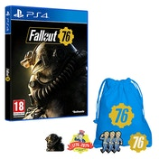 Fallout 76 PS4 Game + Exclusive Pin Badge Set (inc BETA)