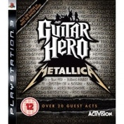 Ex-Display Guitar Hero Metallica Solus Game PS3 Used - Like New