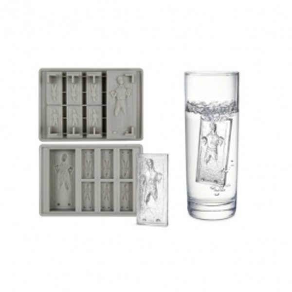 Han Solo in Carbonite Silicone Ice Cube Tray