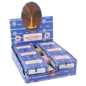 Box of 12 Packs of Satya Nag Champa Incense Cones