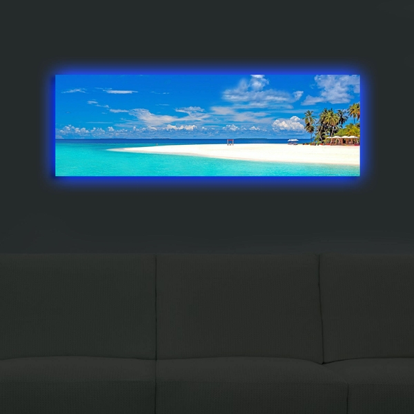 3090DACT-30 Multicolor Decorative Led Lighted Canvas Painting