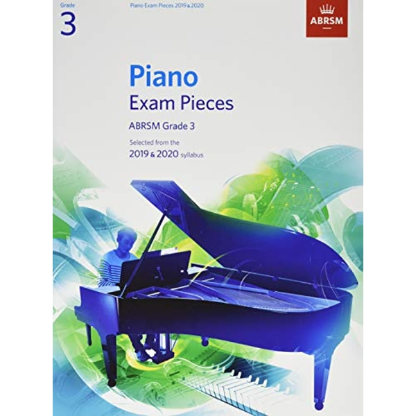 Piano Exam Pieces 2019 & 2020, ABRSM Grade 3  2018 Sheet music