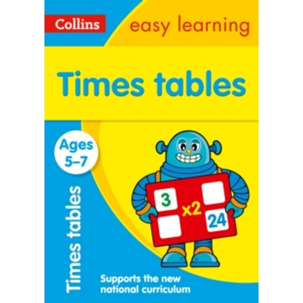 Times Tables Ages 5-7: New Edition