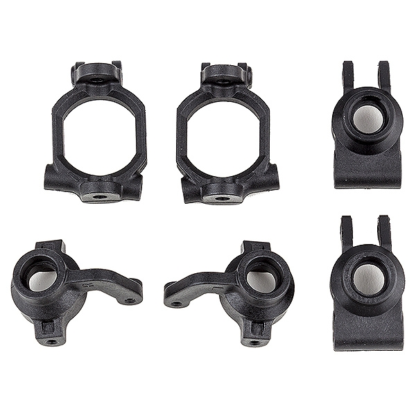 Team Associated Rival Mt10 Caster And Steering Block Set