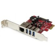 StarTech 3-port PCI Express USB 3.0 Card   Gigabit Ethernet