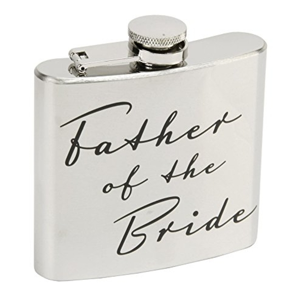 AMORE BY JULIANA? Father of the Bride Hip Flask