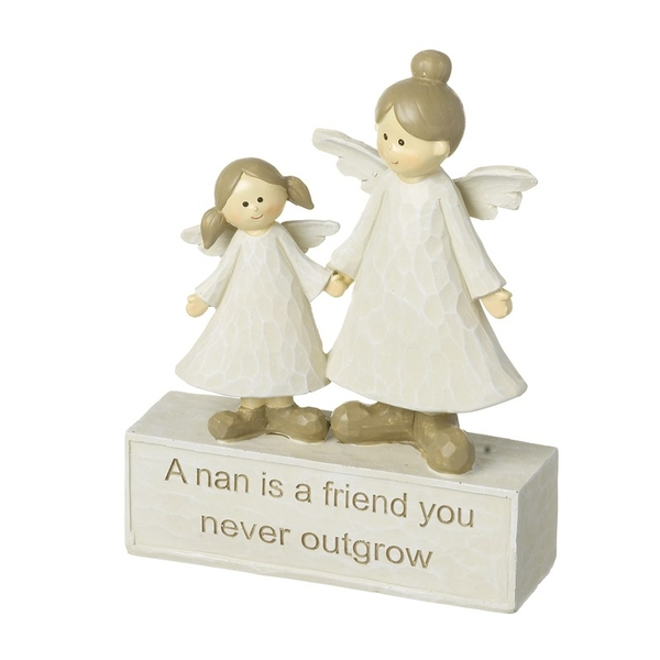 Nan and Grand Daughter Angels Ornament by Heaven Sends