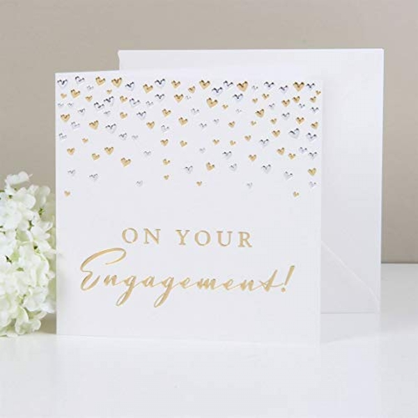 AMORE BY JULIANA? Deluxe Card - On Your Engagement