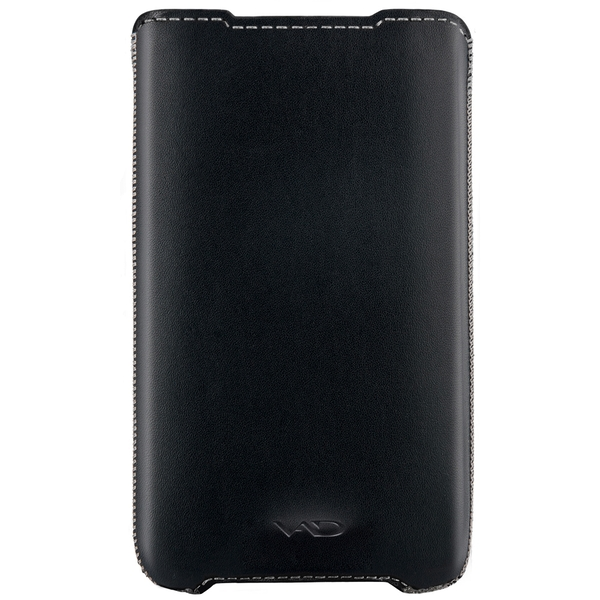 Vicious and Divine Superior Leather Soft Vest For Samsung Galaxy SII and Others Large Devices