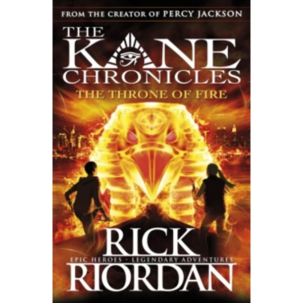 The Throne of Fire (The Kane Chronicles Book 2) by Rick Riordan (Paperback, 2012)