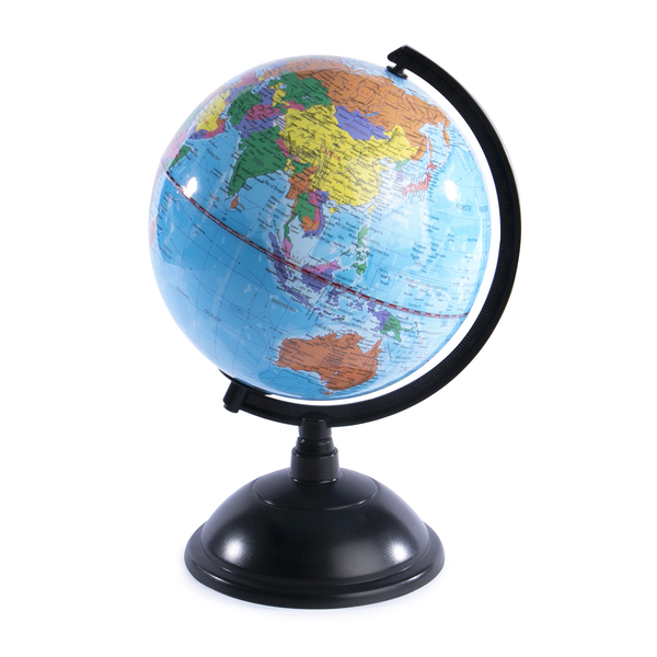 Rotating Colour Globe | Pukkr