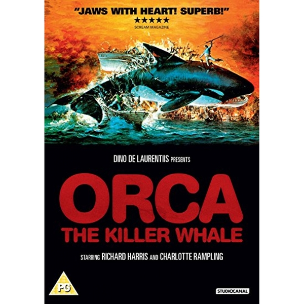 Orca - The Killer Whale (1977) DVD
