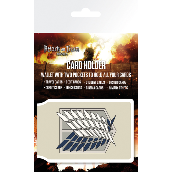 Attack On Titan Badge Card Holder