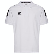 Sondico Venata Polo Shirt Youth 11-12 (LB) White/White/Black