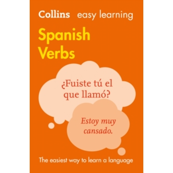 Easy Learning Spanish Verbs (Collins Easy Learning Spanish) by Collins Dictionaries (Paperback, 2016)
