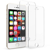 Apple iPhone 5 / 5S / SE Glass Screen Protector - Twin Pack